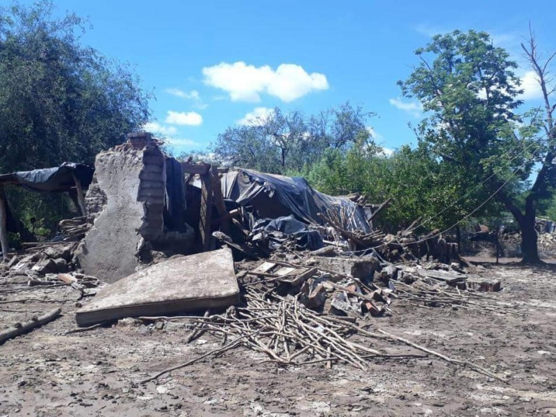 Continúan sin vivienda familias al sur de Álamos