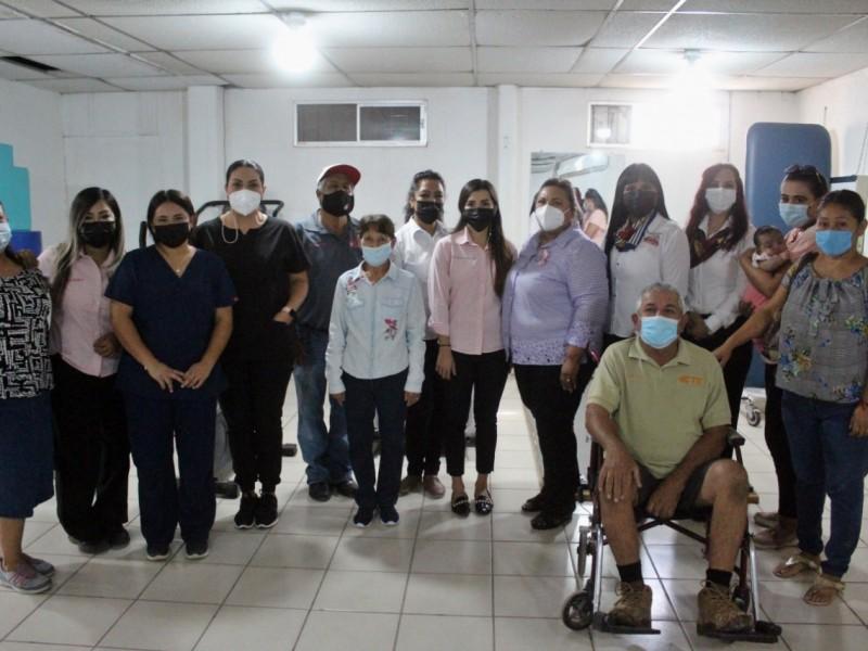 Continúan terapias en la UBR del DIF Empalme
