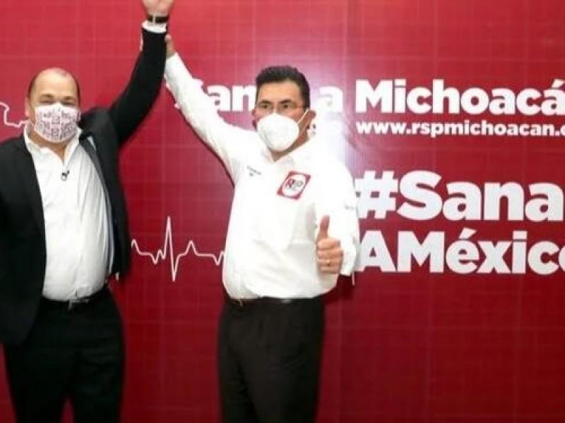 Continuará Abraham Sánchez siendo candidato a la gubernatura por RSP