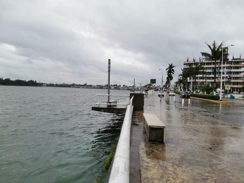 Continuará lluvia y descenso de temperatura en Tuxpan