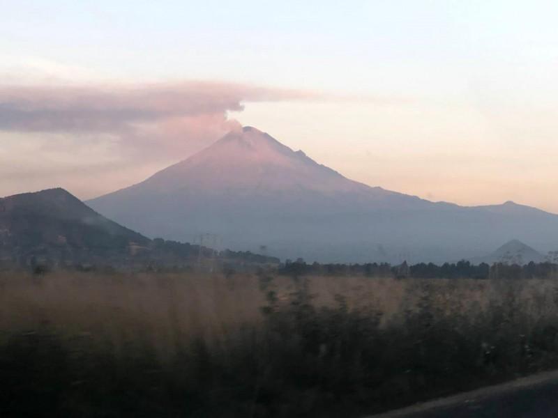 Continuará volcán Popocatépetl con actividad importante