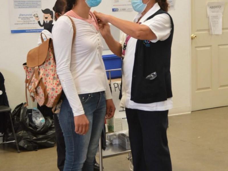 Continuará vacunación anticovid para jóvenes en Guanajuato
