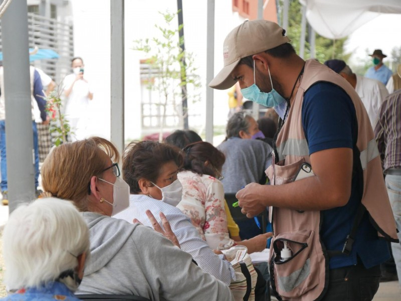 Continuará vacunación contra COVID-19 en Morelia