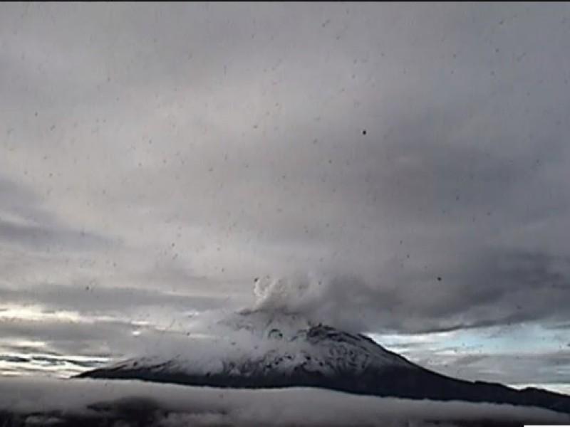 Continuarán explosiones y caída de ceniza del Popocatépetl
