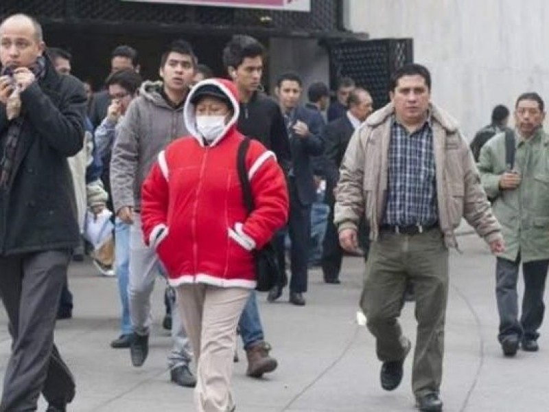 Continuarán las bajas temperaturas en la Ciudad de México