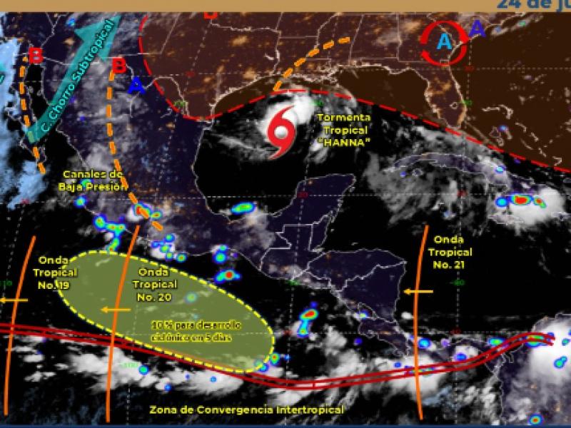 Continuarán las lluvias en el estado de Zacatecas