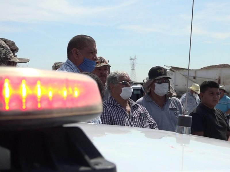 Protestas contra la CATEM no desistirá manifiestan transportistas