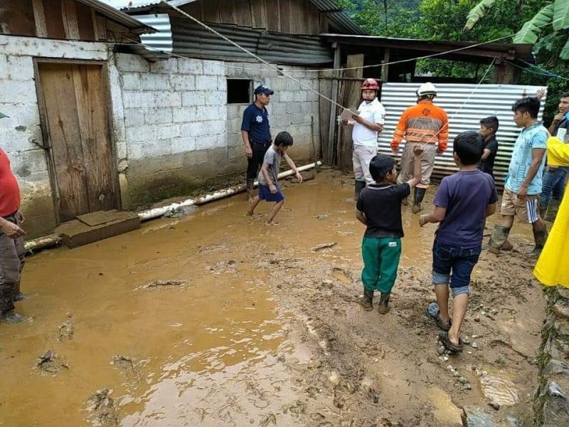Continuarán lluvias en Chiapas por TT Zeta