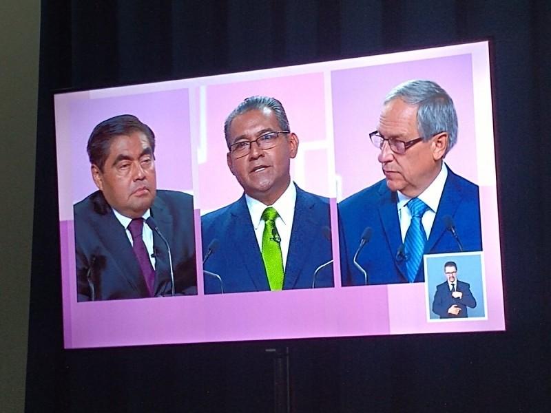 Contraste de propuestas en el debate, dice INE