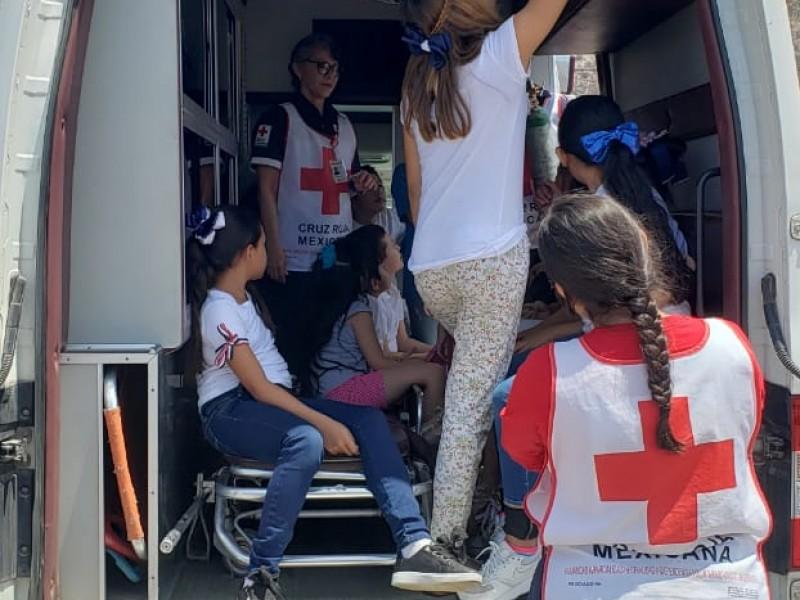 Contribuye Cruz Roja en Campamento de Go English