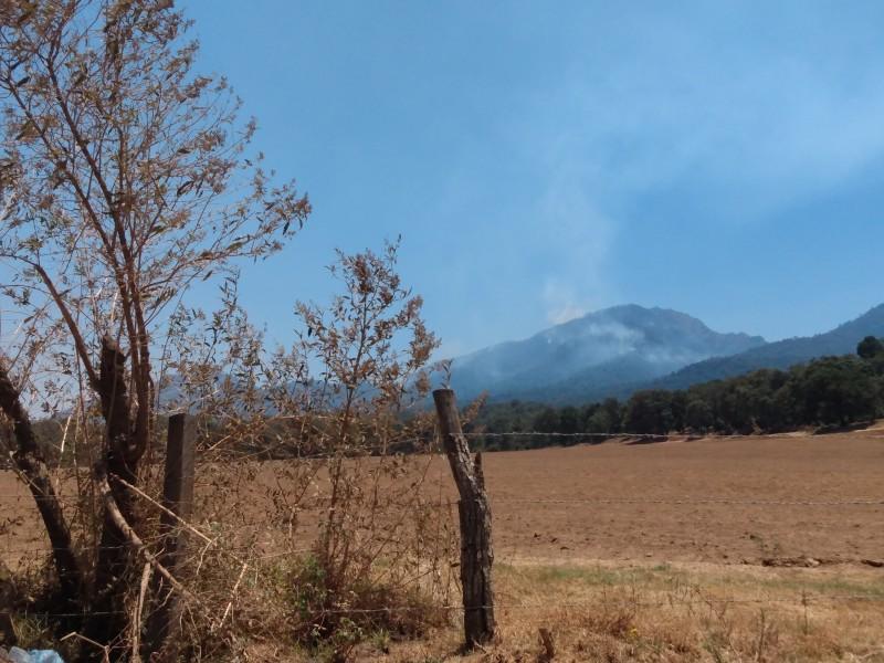 Controlado al 100% incendio en el Cerro Grande de Patamban