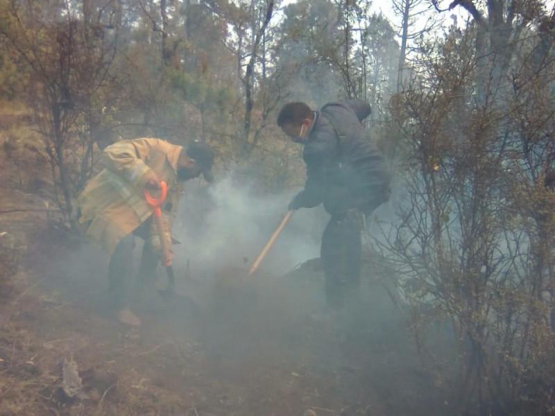 """Controlado al  90% incendio en el cerro """"El cacique"""""""