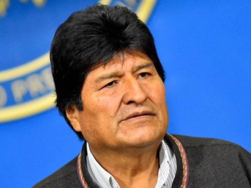 Convoca Evo acto político en frontera de Argentina