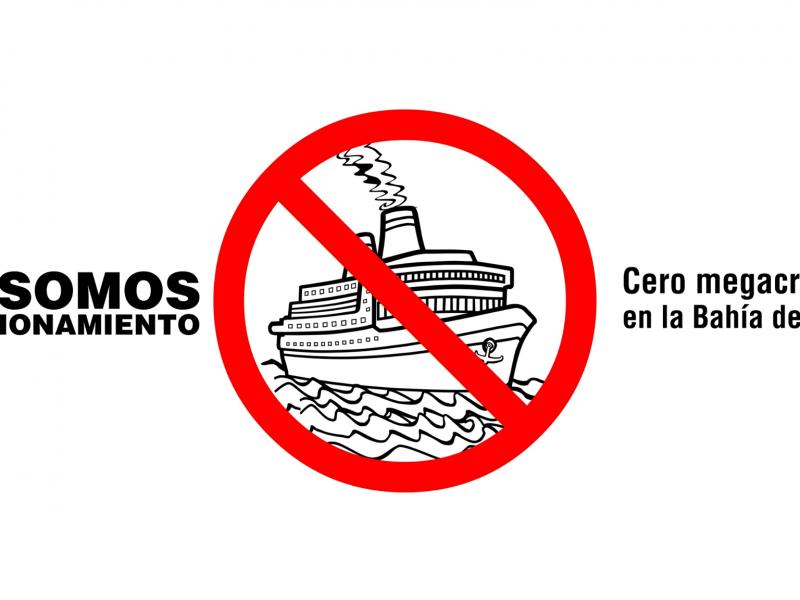 Convocan a manifestación en contra de megacruceros