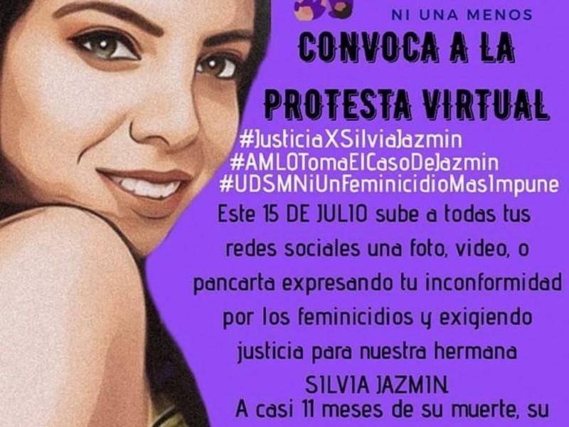Convocan a protesta virtual para exigir justicia por feminicidio