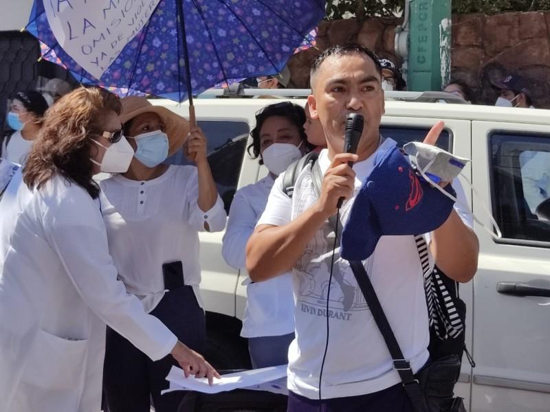 Convocan a un día sin médicos, exigen justicia para Mariana
