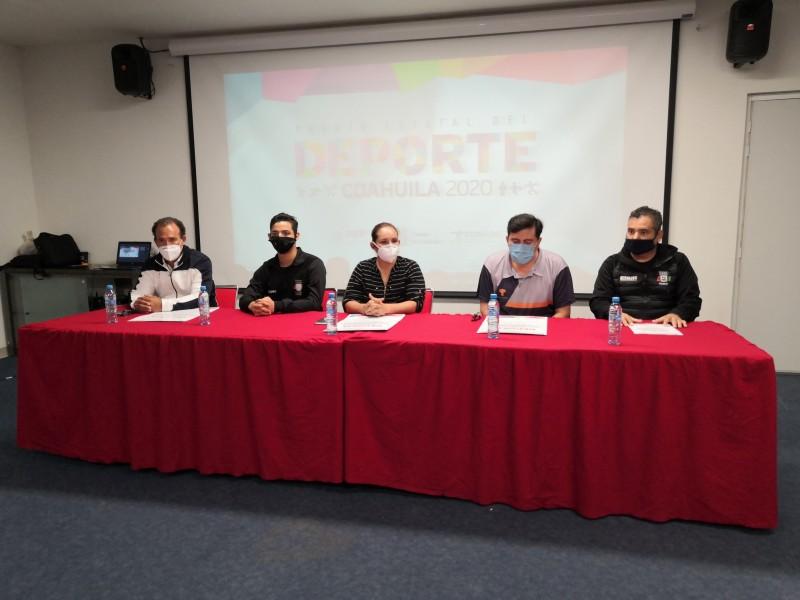 Convocan al Premio Estatal del Deporte en Coahuila