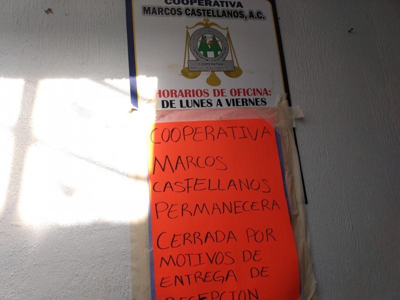 Cooperativa desfalca a ciudadanos de San José de Gracia