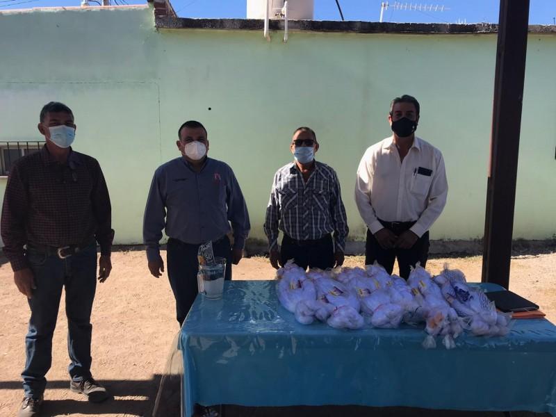 Cooperativas Pesqueras de Piedras Verdes en Álamos reciben apoyos
