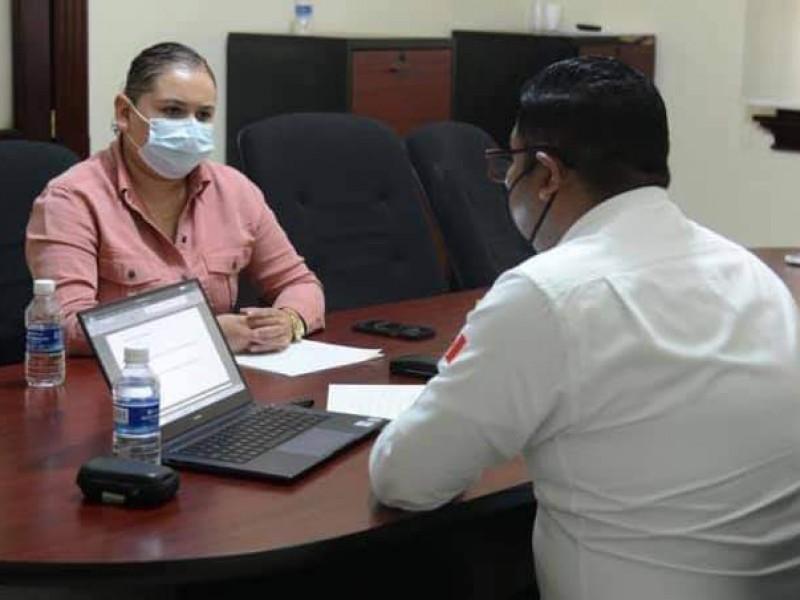 Coordinan jornada de vacunación para jóvenes de 18-29 en Chilchota