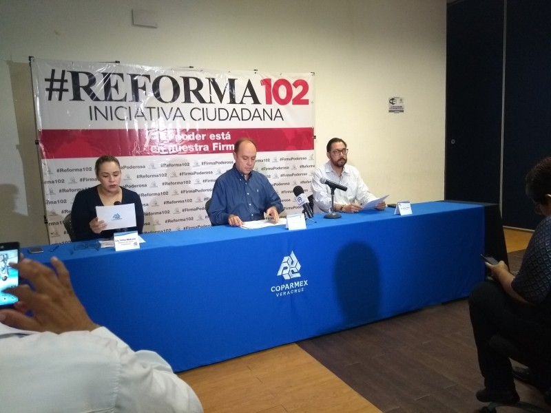 Coparmex busca fiscalía autónoma