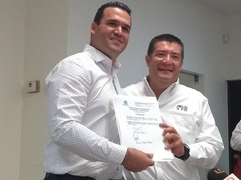 COPARMEX debe exigir 3 de 3 a candidatos:Ruelas