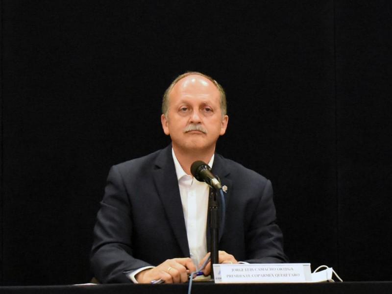 Coparmex Querétaro hace un llamado a funcionarios entrantes a trabajar
