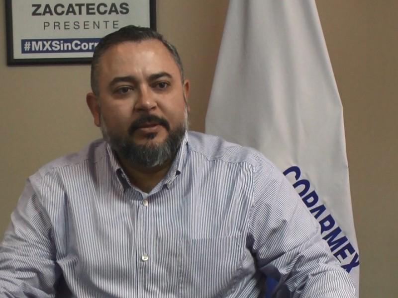 Coparmex Zacatecas pide no criminalizar outsourcing