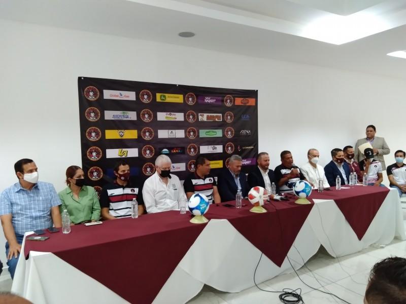 Coras FC busca revivir al fútbol profesional en Nayarit