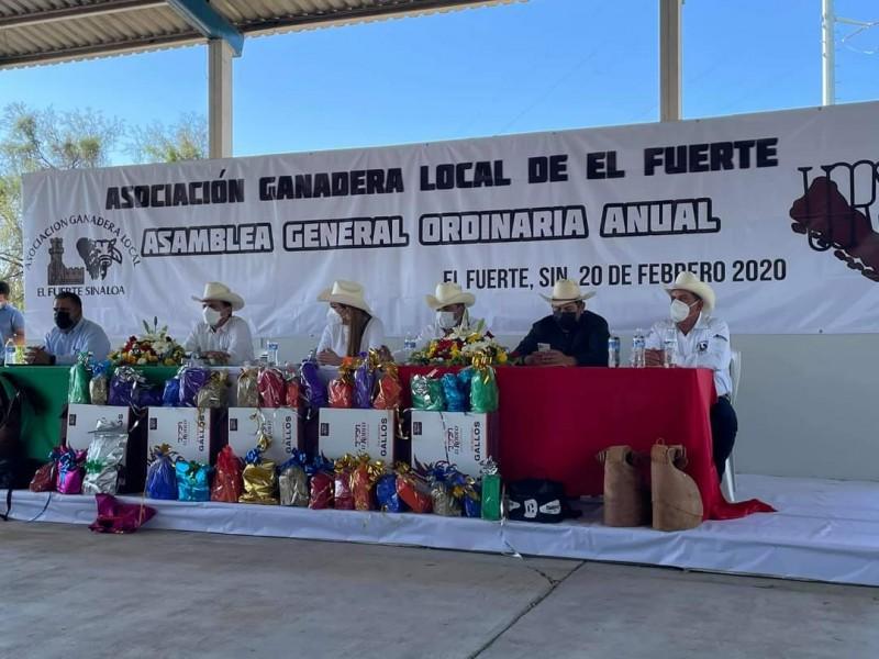 Cornelio Vea, nuevo presidente de Asociación de Ganaderos El Fuerte