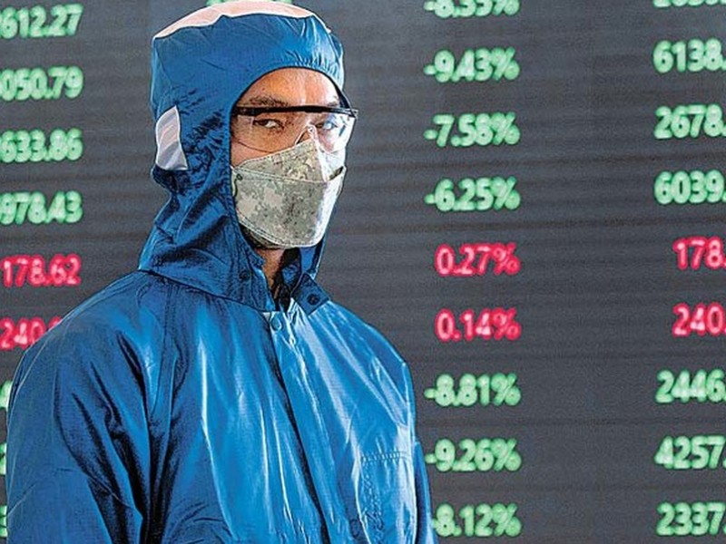 Coronavirus golpea a las bolsas de valores del mundo