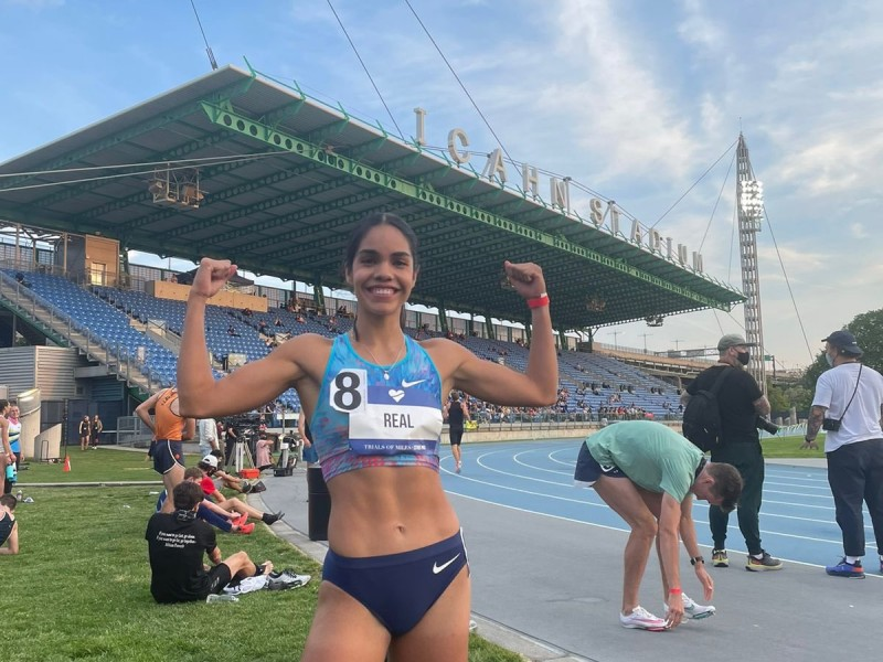 Corredora nayarita rompió récord mexicano en prueba de 800 metros