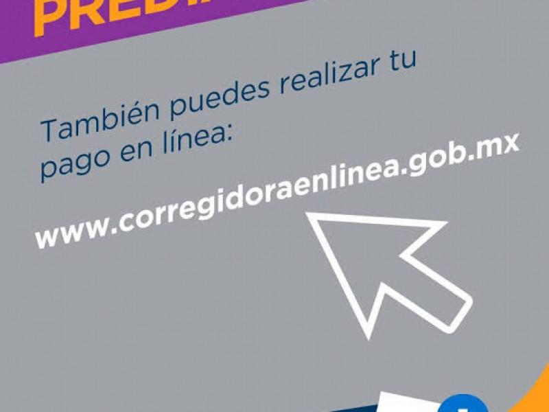 Corregidora cobrará predial sólo online