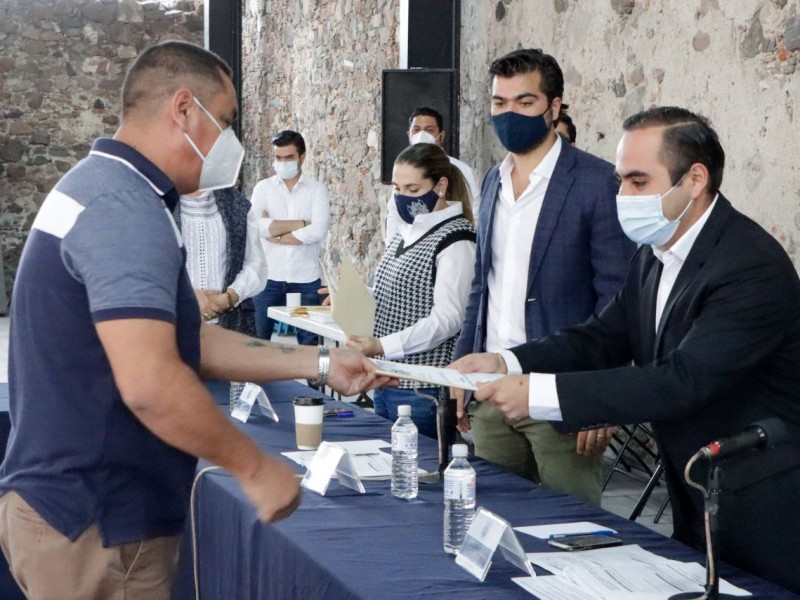 Corregidora reconoce a trabajadores jubilados