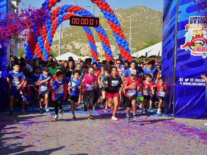 Corren la 5 y 10 K Chilchota