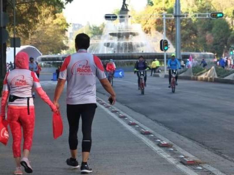 Cortes viales por carreras atléticas y Paseo ciclista
