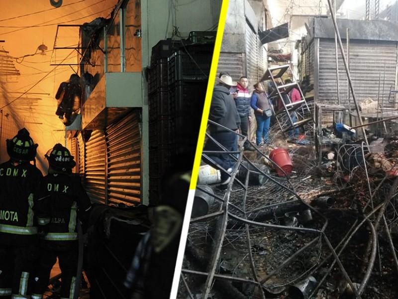 Corto circuito provocó incendio en La Merced