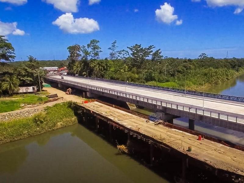 Costa Rica y Panamá inauguran puente binacional financiado por México