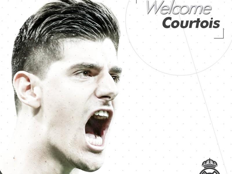 Courtois ya es del Real Madrid