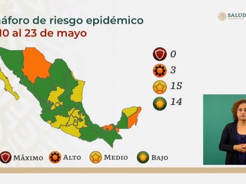 Covid-19: Casi la mitad del país llega a semáforo verde