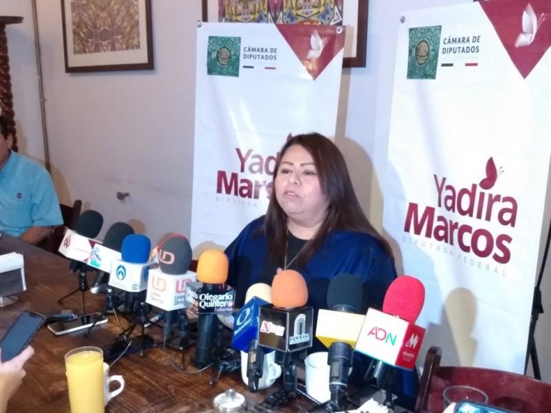 COVID-19 está controlado en México: Yadira Marcos