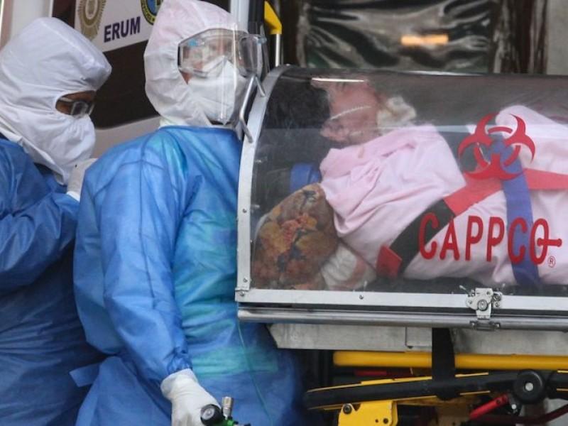 COVID-19: México acumula 219,590 fallecimientos