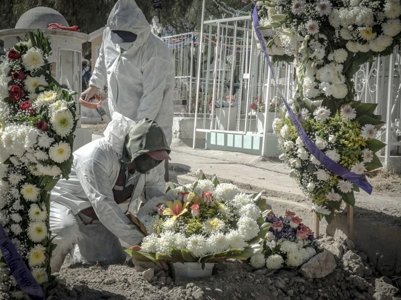 Covid-19, segunda causa de muerte en México en 2020