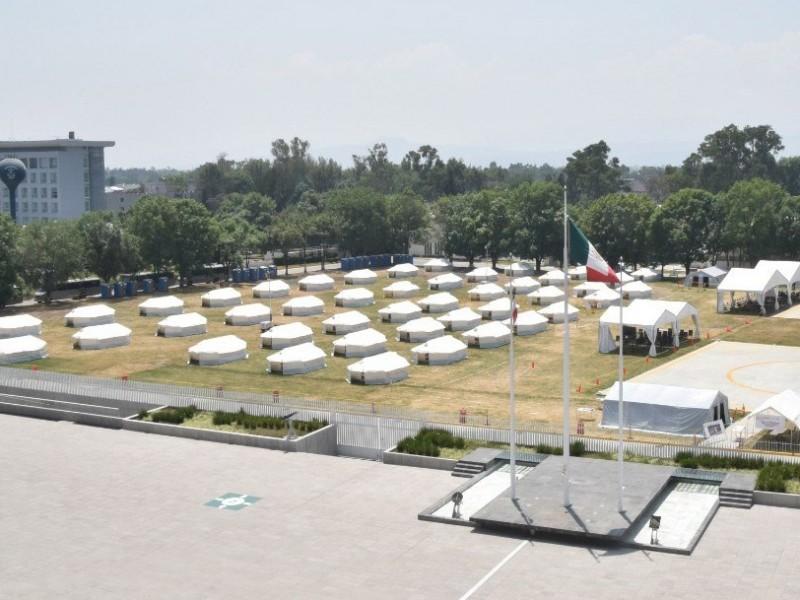 Covid-19: Centros de Aislamiento Voluntario de la Marina están vacíos