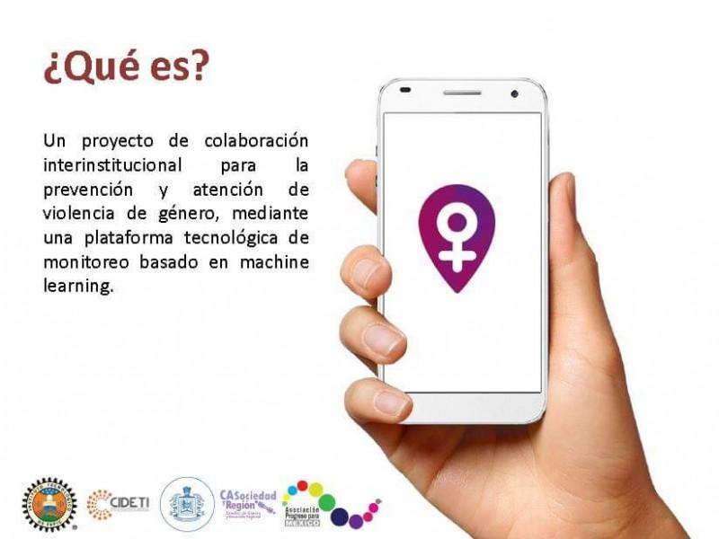 Crean aplicación para localizar zonas inseguras