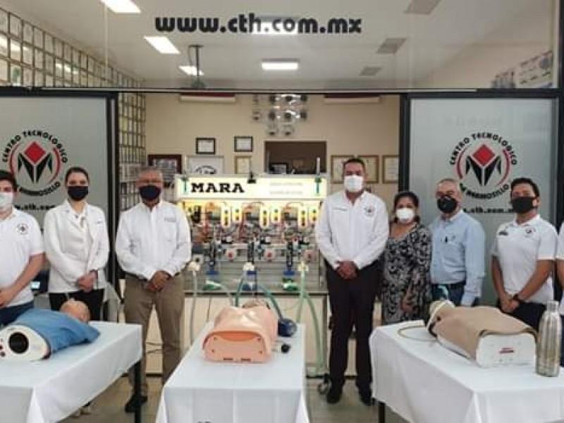 Crean en Sonora máquina de respiración asisitida