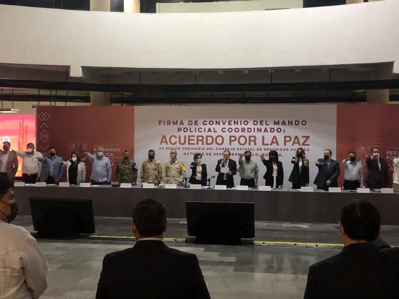 Crean Mando Único Coordinado para regresar paz a Sonora