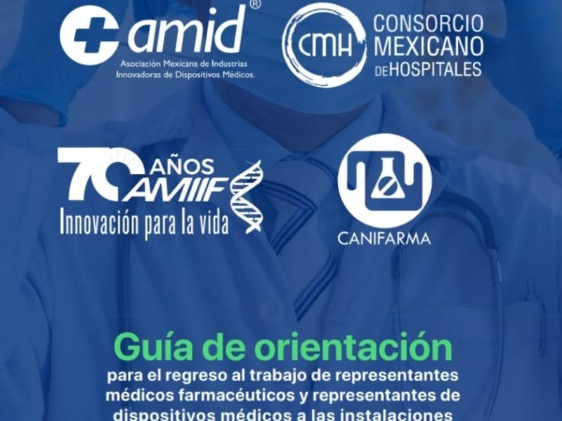 Crean protocolo para regreso de atenciones a hospitales