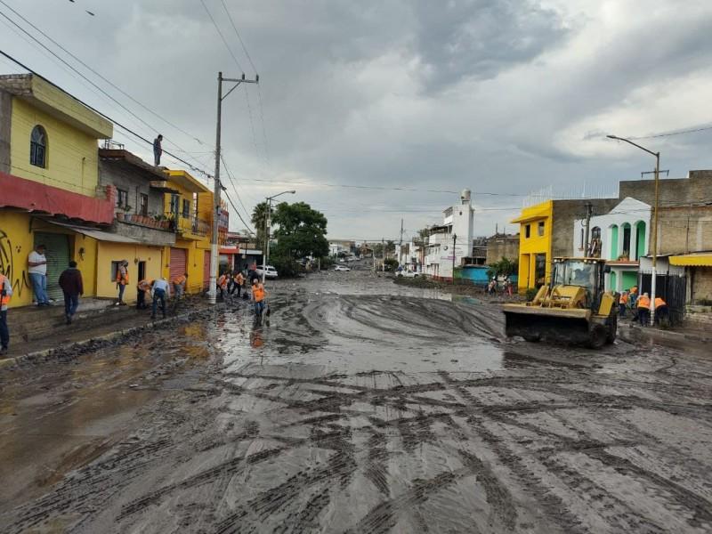 Crece a 340 casas afectadas por tormentas en Zapopan