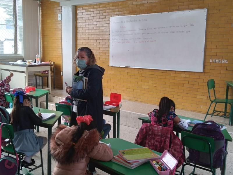 Crece asistencia de alumnos en escuelas del municipio de Toluca
